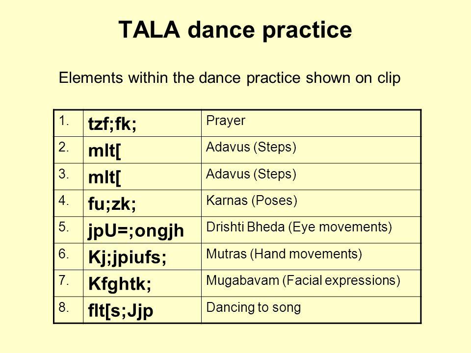 TALA dance practice tzf;fk; mlt[ fu;zk; jpU=;ongjh Kj;jpiufs; Kfghtk;